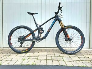 Canyon Strive CF 9.0 Race Mountain Bike, M, Carbon Full Suspension