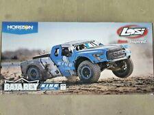 Losi Baja Rey Ford Raptor 1/10 Rtr 4Wd Brushless Desert Truck King Shocks New!