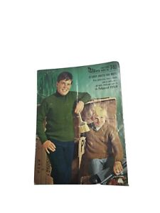 Vintage Patons Knitting Book No.740
