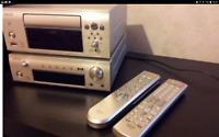 DENON DRA f102 DAB FM RECEIVER CHR F103 CD/MP3 40GB HDD DIGITAL/ANOLOG RECORDER