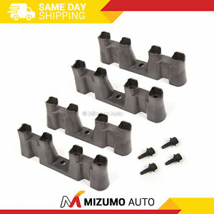 Lifter Guides Trays Set of 4  w/ Bolts Chevy GM 5.3 5.7 6.0 LS1 LS2 LS7 Non-AFM