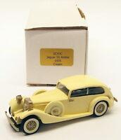 Gems & Cobwebs 1/43 Scale Model Car GC43C - 1935 Jaguar SS Airline - Cream