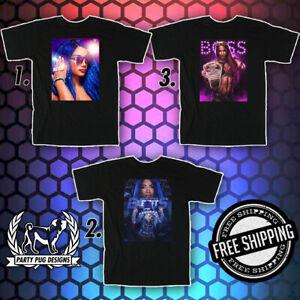 WWE Sasha Banks T-Shirts & Hoodies (NOW 20% OFF)