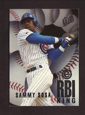 Sammy Sosa--1996 Fleer Ultra RBI Kings--Chicago Cubs
