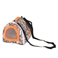 Portable Small Animals Hedgehog Hamster Carrier Bag Outdoor Travel Guinea PiG2R1