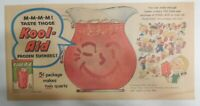 Kool-Aid Drink Ad: Lets Make Kool-Aid Suckers! from 1950's Size: 7.5 x 15 inches