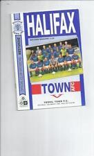 Yeovil Town Football Non-League Fixture Programmes (1990s)