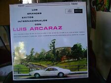 SEALED LATIN LP~LUIS ARCARAZ~GRANDES EXITOS INTERNACIONALES CON~MUSART~HEAR