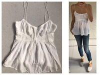 Australian Fashion Brand Bettina Liano Cotton Camisole Sz M