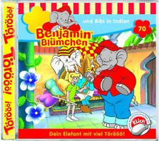 Benjamin Blümchen - Folge 70 - und Bibi in Indien - Hörspiel - CD - *NEU*
