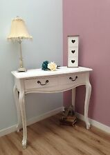 Fayelle White Shabby ChicTwo Drawer Console Table