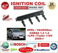 FOR OPEL VAUXHALL CORSA 1.2 1.4 +LPG +Turbo +16V 2009-> IGNITION COIL UNIT 7-PIN