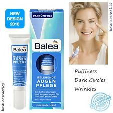 Balea Eye Cream Puffiness Dark Circle Wrinkle Revitalizing Vegan Aloe Vera New