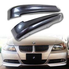 330i 320i PAINTED BMW E90 3-SERIES 4D OE MODEL FRONT BUMPER LIP SPLITTER #A22