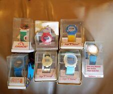 Vintage Lot of 7 Jordache Sergio Valente Sasson Valdawn Watch  Original Box