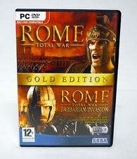 ROME: TOTAL WAR Sega PC Game NEAR COMPLETE 2006