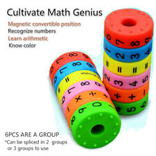 Axis Magnetic Mathematics Arithmetic Learning Puzzle Educational Toys Kids Gift