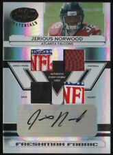 2006 Jerious Norwood Certified Mirror Black Auto Autograph Patch 1/1 Falcons RC