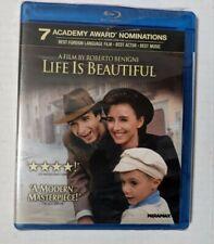 Life Is Beautiful (Blu-ray Disc, 2011) new please read