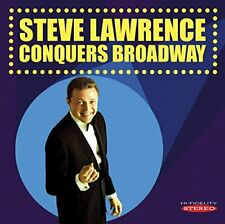 Steve Lawrence - Conquers Broadway [CD]