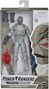 """Power Rangers Lightning Collection Zeo Z Mastic 6 """" Premium de Figurine"""