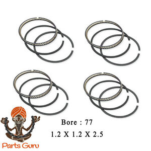 2000-2006 Mini Cooper R50 R53 1.6 & 1.4 L Piston Rings Set W11B16A W10B16A +0.50