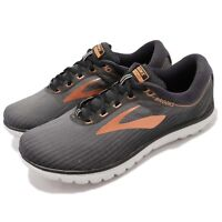 Brooks PureFlow 7 Grey Black Copper Men Running Shoes Sneakers 110275 1D