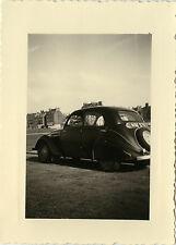 PHOTO ANCIENNE - VINTAGE SNAPSHOT - VOITURE AUTOMOBILE PEUGEOT - CAR 1954