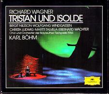 WAGNER TRISTAN UND ISOLDE Birgit Nilsson Wolfgang Windgassen KARL BÖHM 3CD 1966