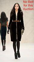 $30,000 RUNWAY Burberry Prorsum 6 8 40 Sheared MINK Fur Trench Coat Women Lady