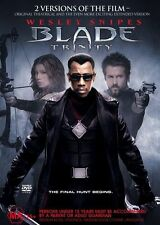 Blade Trinity Wesley Snipes Extended Cut & Theatrical Versions Region 4 DVD VGC