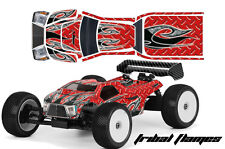 AMR RACING RC GRAPHICS SKIN DECAL KIT MUGEN BULLDOG PROLINE BODY MBX6T TFLAME R