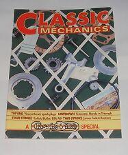 CLASSIC MECHANICS WINTER 1983  ISSUE NO.2 - HONDA VS TRIUMPH/ENFIELD BULLET