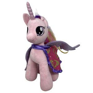 "Build A Bear My Little Pony Pink Unicorn Cadence 18"" Plush With Cape 2015 BAB"