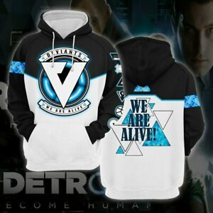 Detroit: Become Human We Are Alive Hoodies sweater Cosplay Pullover Hooded