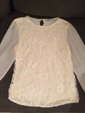 Women's Lace Scoop Neck Tops & Shirts