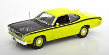 1:18 Ertl/Auto World Plymouth Duster 340 1971 lightgreen/black