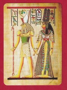 Beautiful Egyptian Drawings - Wide Linen Swap Playing Card