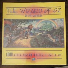 "SEALED Wizard of Oz Puzzle by Scott Gustafson 1000 Piece SunsOut 16 ""x 34"" J170"