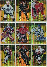1995-96 Select Certified Mirror Gold Complete Set of 144 Lemieux Gretzky Roy $$$