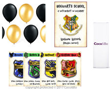 Coco&Bo Hogwarts Houses Standard Room Decoration Party Pack - Harry Potter Theme