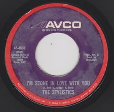 STYLISTICS {70s Smooth Philly Soul} I'm Stone In Love With You / Make It ♫HEAR