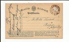 Preussen V. / LUCKENWALDE 27.8.73, K2 auf Kabinett-Postkarte m. DR 18