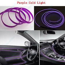 2m Purple EL Cold Light Car Strip Neon Lamp Mood Creater Door Decor For VW -1pcs