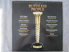 RUTHLESS PEOPLE ~ ORIGINAL MOTION PICTURE SOUNDTRACK  VINYL RECORD LP / 1986