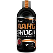 BioTech-USA-AAKG-Shock-Extrem 1000ml L-Arginin Pre-Workout Booster + BONUS