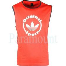 adidas Cotton Sleeveless T-Shirts for Men