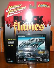 johnny lightning 2017 flames 2005 ford gt RELEASE 1 VERSION d, 1 OF 1256 NEW