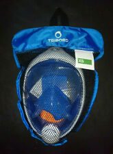 THE ORIGINAL Tribord Easybreath® snorkeling mask, BLUE kids' size XS, SUPERB!