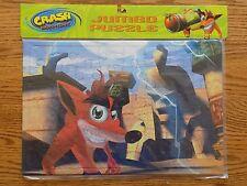 Crash Bandicoot Jumbo Puzzle 48 Pieces New Factory Sealed 2001 Universal Studios